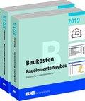 BKI Baukosten Gebäude + Bauelemente Neubau 2019, 2 Bde.