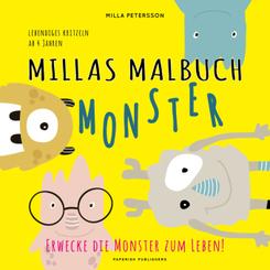 Millas Malbuch - Monster