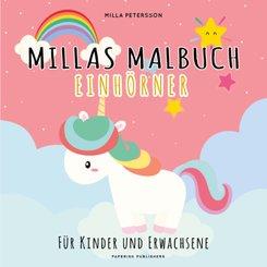 Millas Malbuch - Einhörner