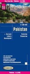 Reise Know-How Landkarte Pakistan (1:1.300.000)
