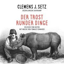 Der Trost runder Dinge, 5 Audio-CDs + 1 Buch