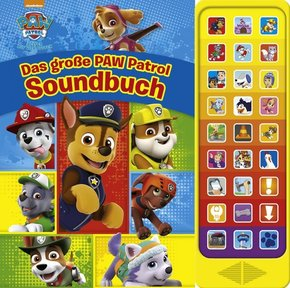 Das große PAW Patrol Soundbuch