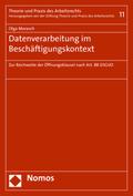 Datenverarbeitung im Beschäftigungskontext