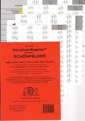DürckheimRegister® SCHÖNFELDER (2020) Gesetze und