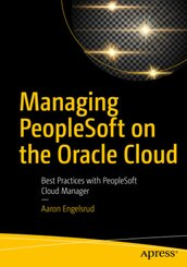 Managing PeopleSoft on the Oracle Cloud