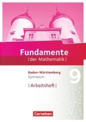 Fundamente der Mathematik, Gymnasium Baden-Württemberg: 9. Schuljahr, Arbeitsheft