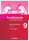 Fundamente der Mathematik, Gymnasium Baden-Württemberg: 9. Schuljahr, Lösungen zum Schülerbuch