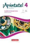 ¡Apúntate! - Nueva edición: Cuaderno de ejercicios, Ausgabe Gymnasium; .4