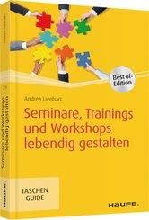 Seminare, Trainings und Workshops lebendig gestalten