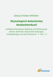 Etymologisch-botanisches Handwörterbuch
