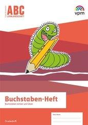 ABC-Lernlandschaft. Ausgabe ab 2019: Buchstaben-Heft Druckschrift Klasse 1/2