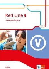 Red Line. Ausgabe für Bayern ab 2017: 7. Klasse, Vokabeltraining aktiv