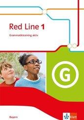 Red Line. Ausgabe für Bayern ab 2017: 5. Klasse, Grammatiktraining aktiv!