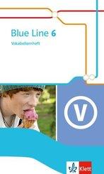 Blue Line. Ausgabe ab 2014: 10. Schuljahr, Vokabellernheft