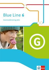 Blue Line. Ausgabe ab 2014: 10. Schuljahr, Grammatiktraining aktiv