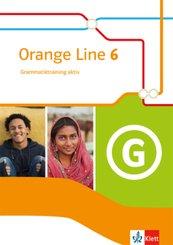 Orange Line. Ausgabe ab 2014: 10. Klasse, Grammatiktraining aktiv
