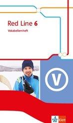 Red Line. Ausgabe ab 2014 -10. Klasse, Vokabellernheft - Bd.6