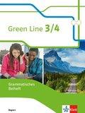 Green Line, Ausgabe für Bayern ab 2017: 7./8. Schuljahr, Grammatisches Beiheft; 3/4*3/4