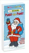 Punkt-zu-Punkt, mit Regenbogen-Stift - Weihnachten