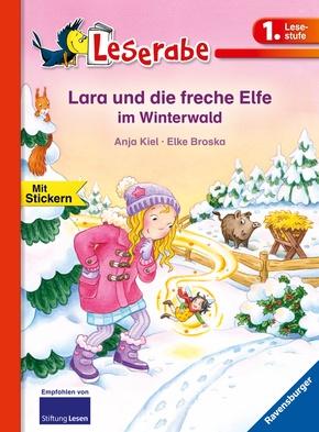 Lara und die freche Elfe im Winterwald