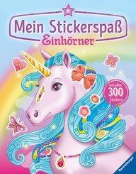 Mein Stickerspaß: Einhörner