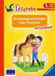 Erstlesegeschichten vom Ponyhof - Leserabe 1. Klasse - Erstlesebuch für Kinder ab 6 Jahren