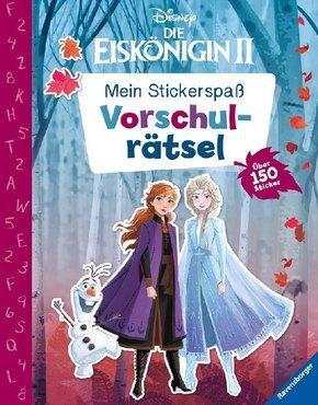 Mein Stickerspaß Disney Die Eiskönigin 2: Vorschulrätsel; .