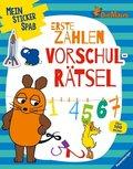 Mein Sticker Spaß Die Maus: Erste Zahlen Vorschulrätsel