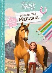 Dreamworks Spirit Wild und Frei: Mein großes Malbuch; .