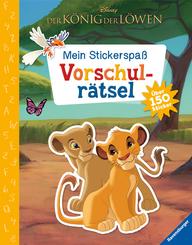 Mein Stickerspaß Disney Der König der Löwen: Vorschulrätsel; .
