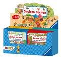 Ravensburger Minis - Sachen suchen, Verkaufs-Kassette (40 Expl. (4 Titel))