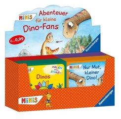 Ravensburger Minis - Abenteuer für kleine Dino-Fans, Verkaufs-Kassette (40 Expl. (4 Titel))