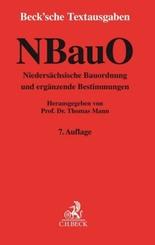 NBauO Niedersächsische Bauordnung und ergänzende Bestimmungen