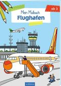 Mein Malbuch - Flughafen