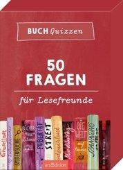 Buchquizzen. 50 Fragen für Lesefreunde