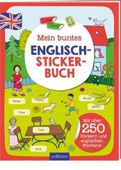 Mein buntes Englisch-Stickerbuch