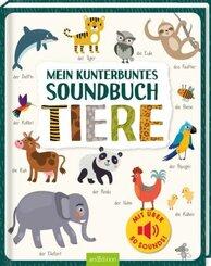 Mein kunterbuntes Soundbuch - Tiere, m. Soundeffekten