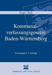 Kommunalverfassungsgesetze Baden-Württemberg