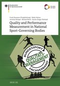 Quality and Performance Measurement in National Sport-Governing Bodies