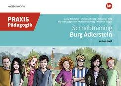 Schreibtraining auf Burg Adlerstein: Arbeitsheft