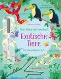 Mein Wisch-und-weg-Buch - Exotische Tiere
