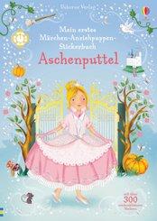 Mein erstes Märchen-Anziehpuppen-Stickerbuch: Aschenputtel
