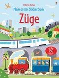 Mein erstes Stickerbuch: Züge
