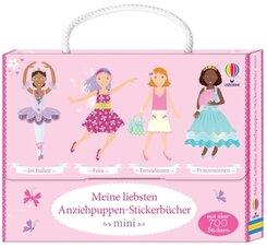 Meine liebsten Anziehpuppen-Stickerbücher mini, 4 Bde.