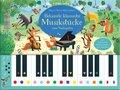 Mein Usborne-Klavierbuch: Bekannte klassische Musikstücke zum Nachspielen, m. Farbtastatur