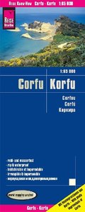 Reise Know-How Landkarte Korfu / Corfu (1:65.000)