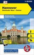 Kümmerly+Frey Outdoorkarte Hannover