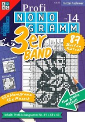 Profi-Nonogramm 3er-Band - Nr.14