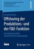 Offshoring der Produktions- und der F&E-Funktion
