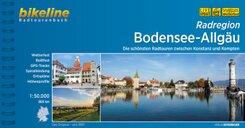 Bikeline Radtourenbuch Radregion Bodensee-Allgäu